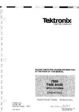 Buy TEKTRONIX 7000 SERIES 7B80_OP by download #109593