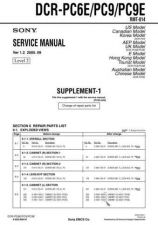 Buy Sony DCR-TRV33 Service Manual by download Mauritron #239799