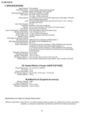 Buy Sharp VLME10791 Service Manual by download Mauritron #211137