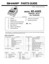Buy Sharp XEA-101 Technical Information by download Mauritron #233072