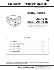 Buy Sharp AR122-123-152-153-157-EN PG SUPPLEMENT GB(1) Service Manual by download