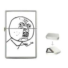 Buy Y U No Guy Rage Comic Internet Meme Cigarette Flip Top Lighter