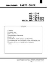 Buy Sharp AL1010-1041-1210-1241 PG GB(1) Service Manual by download Mauritron #207