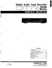 Buy Yamaha DTR2 SM P01-P22 E Manual by download Mauritron #256298