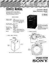 Buy Sony SS-H3800E-H Service Manual. by download Mauritron #244814
