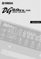 Buy Yamaha DG60FX 112 FR Operating Guide by download Mauritron #247399
