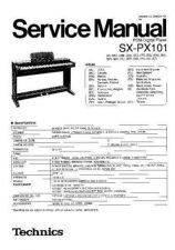 Buy Panasonic SX-PX101 Service Manual by download Mauritron #268934