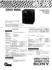 Buy Sony HST-A110-A110K Service Manual by download Mauritron #241376