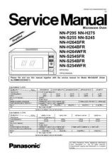 Buy Panasonic NN-S624 Service Manual by download Mauritron #268149