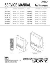 Buy Sony KP-48V85 Manual by download Mauritron #229360
