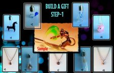 Buy KIDS BUILD A GIFT WORKSHOP Name On Rice Personalization Necklace Pendant Charm