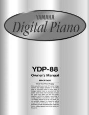 Buy Yamaha YDP88E Operating Guide by download Mauritron #250316