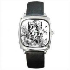 Buy Mad Hatter Alice In Wonderland New Square Wrist Watch
