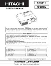 Buy Sony CPX430WA Service Manual by download Mauritron #231790