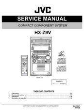 Buy JVC HX-Z9 SERVICE MANUAL by download Mauritron #220288