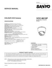 Buy Fisher. VCC-9530_SM Service Manual by download Mauritron #218791