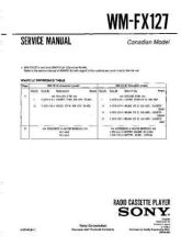 Buy Sony WM-FX123 Service Manual. by download Mauritron #245750