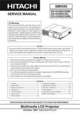 Buy Hitachi ED-X12 Service Manual by download Mauritron #262099