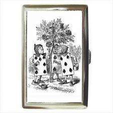 Buy Alice In Wonderland Queen Of Hearts Cards Cigarette Money Card Wallet Case