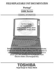 Buy TOSHIBA PORTEGE 3400SERIES by download #109856