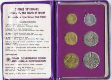 Buy Israel Official Mint Coins Set 1972