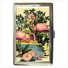 Buy Flamingos Flamingo Art Cigarette Money Credit Business Card Case