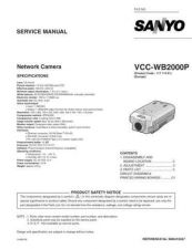 Buy Fisher. Service Manual For VCC-WB2000P by download Mauritron #217535