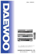 Buy Daewoo. VTB6T91KT1. Manual by download Mauritron #213992
