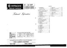 Buy Hitachi VTDX815A Service Manual by download Mauritron #265318