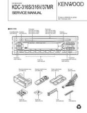 Buy KENWOOD KDC-316S 316V 37MR Technical Information by download #118640