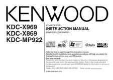 Buy Kenwood KDC-MP922 by download Mauritron #222093