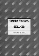 Buy Yamaha EL3F Operating Guide by download Mauritron #247788