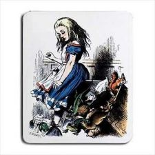 Buy Alice In Wonderland Animals Tinted Color Computer Mouse Pad