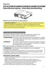 Buy Hitachi CP-S240WF NL Manual by download Mauritron #224670