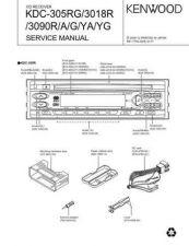 Buy KENWOOD KDC-305RG 3018R 3090R A G YA YG Technical Information by download #11863
