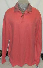 Buy NEW WITH TAGS Tasso Elba burnt orange xl pull over SWEATER msrp $69.00