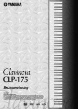 Buy Yamaha CLP175 SV Operating Guide by download Mauritron #247091