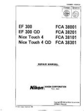 Buy NIKON Nice Touch 4 Repair Manual by download Mauritron #266097
