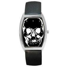 Buy Black Skull Art Goth Unisex Wrist Watch