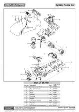 Buy Scalextrix No.461B Subaru Impreza Police Car With Sound Service Sheets by downl