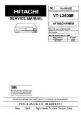 Buy Hitachi VT87A Service Manual by download Mauritron #265281