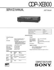 Buy Sony CDP-XE510 Manual by download Mauritron #228231