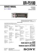 Buy Sony SONY-xrf5100 Manual by download Mauritron #229780