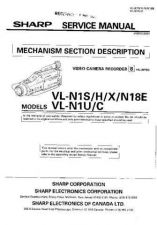 Buy Sharp VLN1H-007 Service Manual by download Mauritron #211162