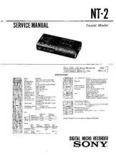 Buy Sony NT-2 Service Manual by download Mauritron #241818