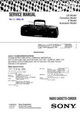 Buy Sony CFS-205 Service Manual by download Mauritron #238913