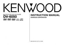 Buy Kenwood DV-6050 Operating Guide by download Mauritron #221169