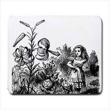 Buy Alice In Wonderland Flower Garden Art Computer Mouse Pad