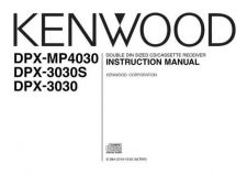 Buy Kenwood DPX-MP4030 by download Mauritron #221137