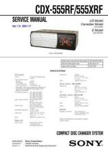 Buy Sony CDX-5490Service Manual by download Mauritron #237509